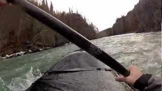 Kenai River Canyon Alpacka Packraft Trip May 2012