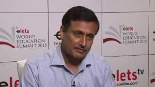 elets World Education Summit 2015 - Interview - Prof Chandra Bhushan Sharma