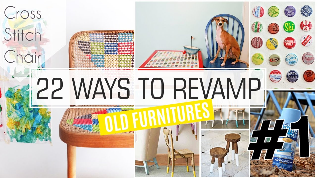 22 Ways How To Revamp Old Furniture 1