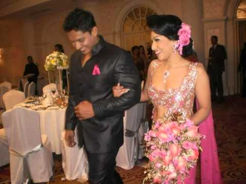 Nehara Menaka Unseen Second Wedding Photos (Nehara Menaka ... Nehara Peiris And Menaka Rajapaksha Wedding