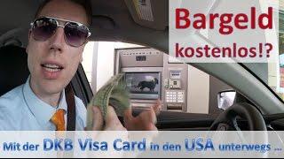Geld abheben mit der DKB Visa Card im Drive-In (USA) kostenlos?