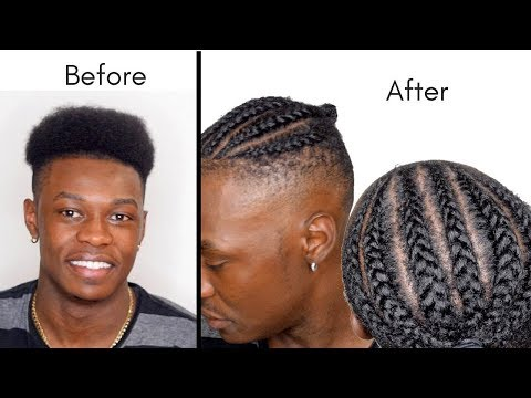 quick-&-easy-men's-cornrow-braids-|-high-top-hairstyle