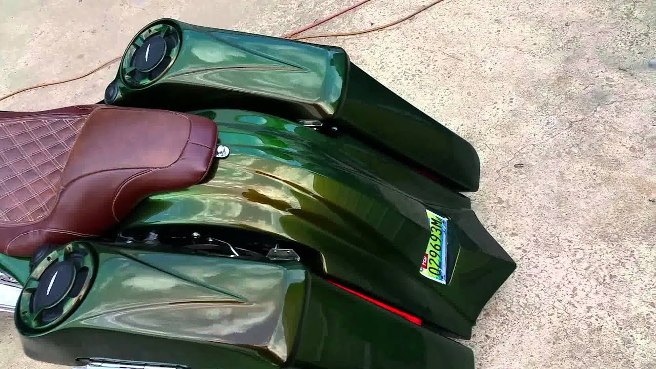 Bagger Bags On Slam G And B Customs