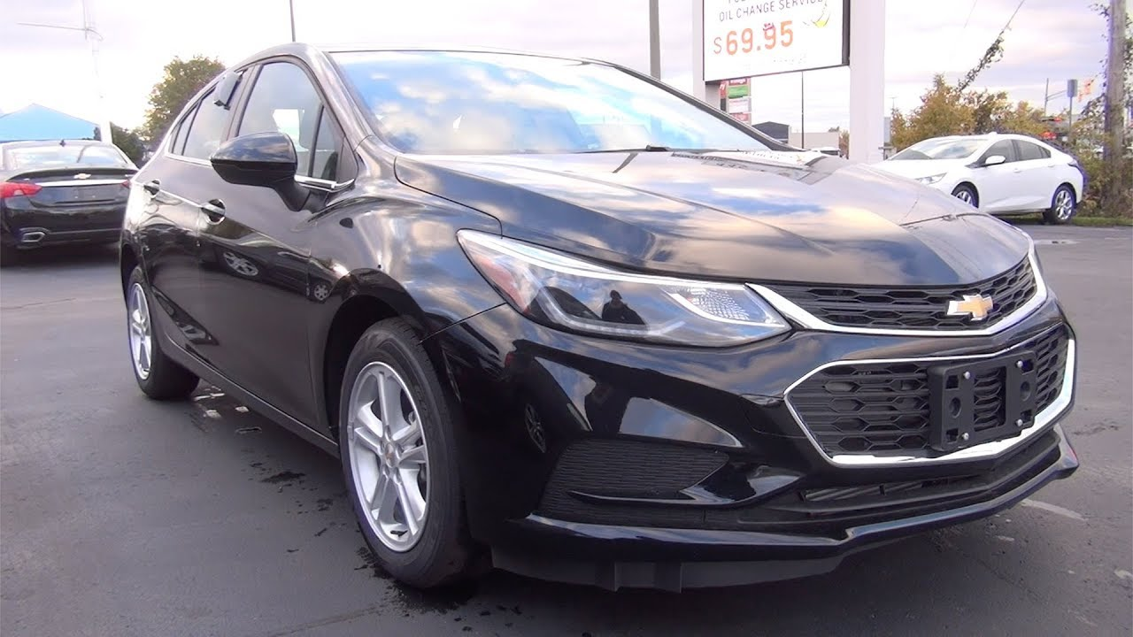2018 Chevrolet Cruze Hatchback Lt Jet Black