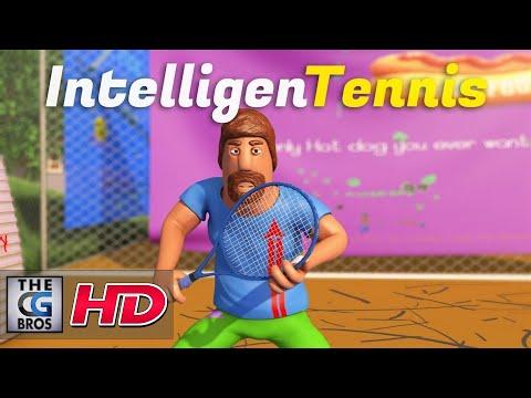 "CGI 3D Animated Short: ""InteligenTennis""  - by Paul Mayer"