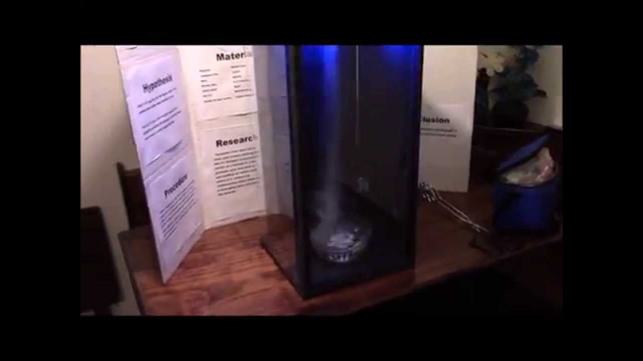 Tornado in a box Science Project - YouTube