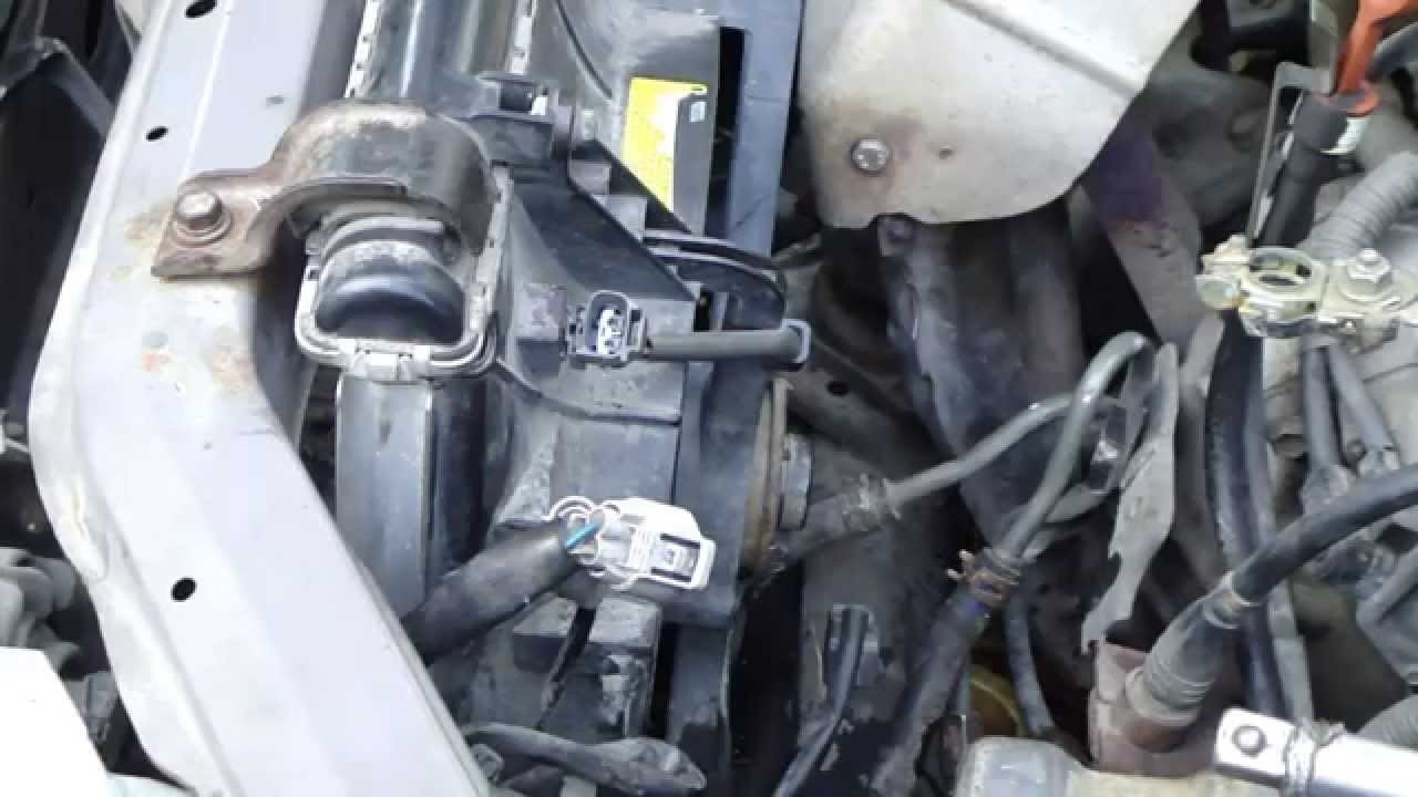 How to replace radiator Toyota Camry 22 liter engine Years 1991 to 2002  YouTube