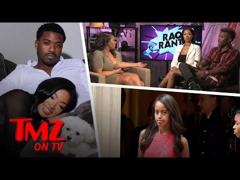 Ray J Shuts Down Rumors He Slid Into Malia Obamas's DM's! (TMZ TV)