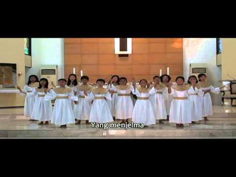 Lomba Koor Anak KAJ - Paduan Suara Anak Salvator (PSAS) Gereja Kristus Salvator