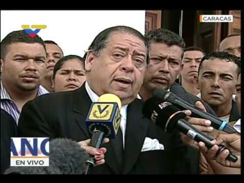 Declaraciones de Hermann Escarrá tras destitución de Luisa Ortega Díaz