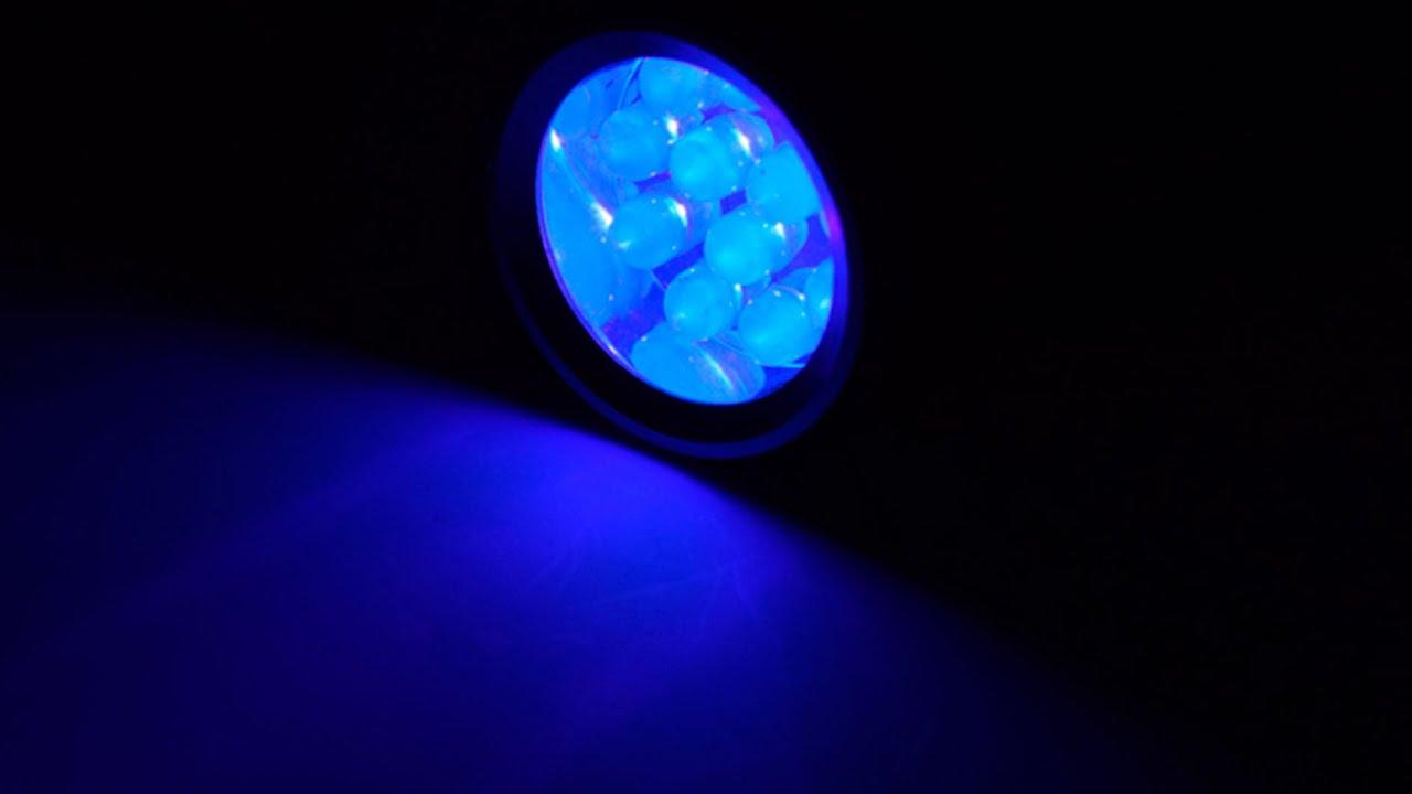 ИК фонарь UkroPnv 940 нм, мощность 1000 мВт - YouTube