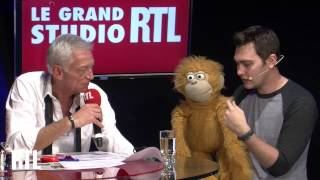 Repeat youtube video Jeff Panacloc dans le Grand Studio RTL Humour de Laurent Boyer. - RTL - RTL