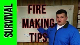 Survival Fire Making Tips - How to repair a bic lighter if its wet or damaged