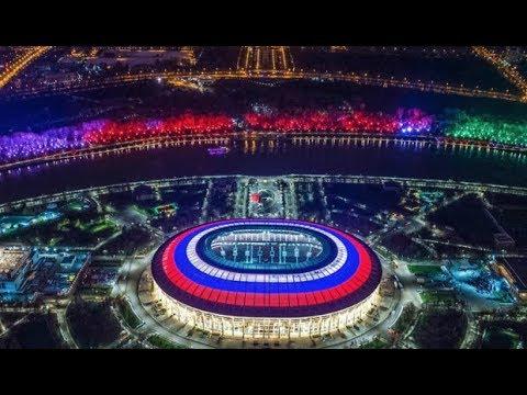 INAUGURACION DEL MUNDIAL RUSIA 2018 RUSIA VS ARABIA SAUDITA