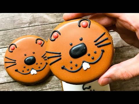 Groundhog Day Cookies With Royal Icing 🍪 📆/ Holidays Cookie Ideas / Cookie Art / Milya Cookie