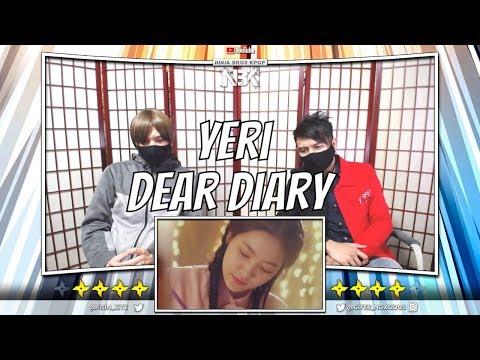 [STATION 3] YERI 예리 '스물에게 (Dear Diary)' MV | [ NINJA BROS Reaction / Review ]