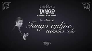 Jakub Grzybek & Patrycja Cisowska- Tango ONline Lesson 9 ( Men's Technique)
