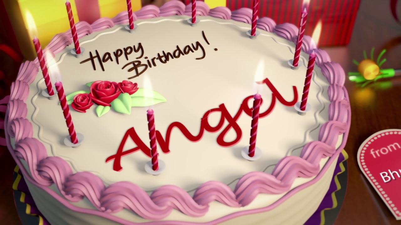 Happy Birthday Angel Youtube