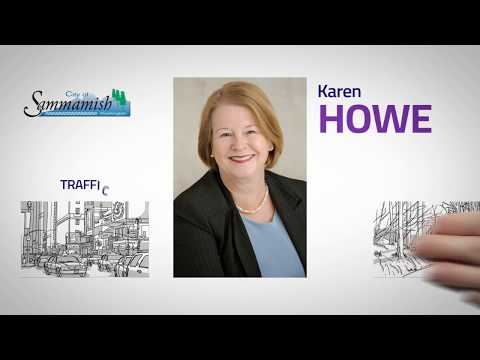 Karen Howe Candidate for Sammamish City Council  (Paid for by Friends to Elect Karen Howe)