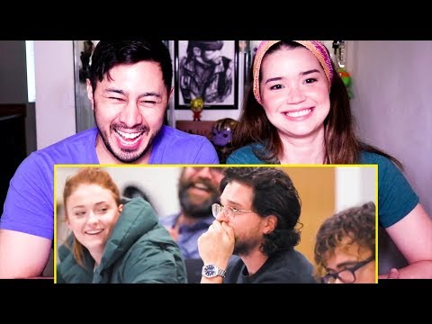 GAME OF THRONES CAST REACTS TO SEASON 8 SCRIPT FINALE | Reaction!