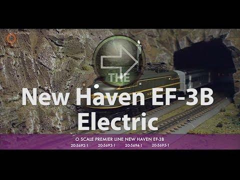 MTH Electric Trains Premier O Scale EF 3b Electric Locomotive