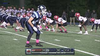 Download Video Wilmington Wildcats Football vs Watertown Oct. 5 2018 MP3 3GP MP4