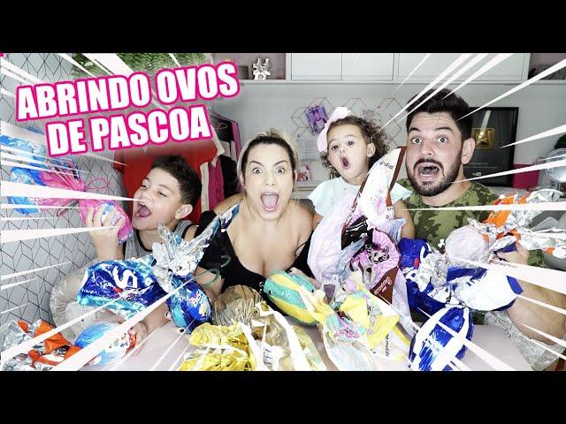 ABRINDO OVOS DE PASCOA 2020 | Kathy Castricini