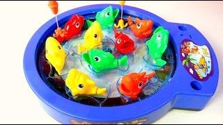 FISHING GAME   Juego de Pescar Peces de Colores Mundo de Juguetes