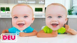 Vlad und Niki   Kleine Babys Masken Geschichte