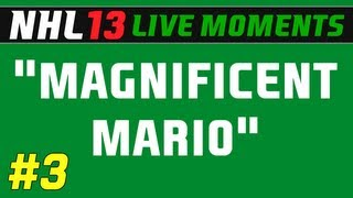 nhl 13 live moments ep 3 magnificent mario