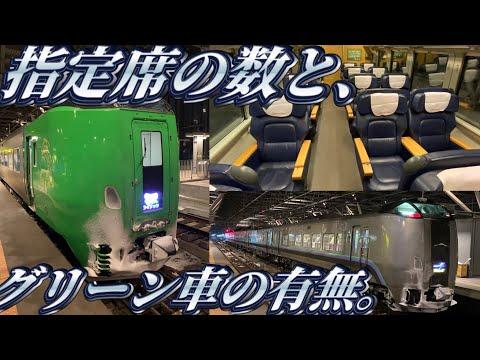 【日本最北電車特急】ライラックのグリーン車に乗ってきた。