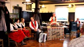 Joachim Süß & sein Ensemble zu unserer Familienfeier im Dezember 2012