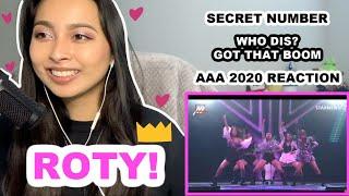 SECRET NUMBER (시크릿넘버) - Who Dis? + Got That Boom 2020 Asia A…