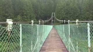 昼間心霊スポットに行ってみた(秩父湖の吊り橋)・秩父湖橋編