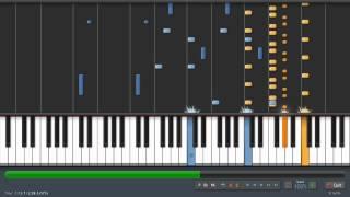 Porter Robinson - Unison - Evan Duffy Version (piano tutorial)