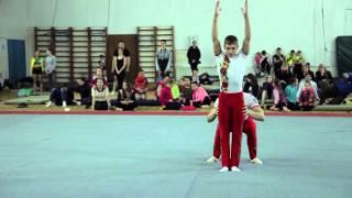 Smart Ukraine: Чемпіонат Києва з акробатики. 3-5 березня 2016 р.