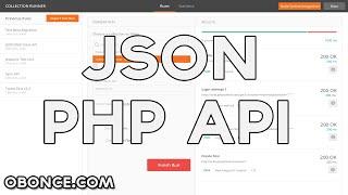 CREATE JSON WEB SERVICE PHP + POSTMAN