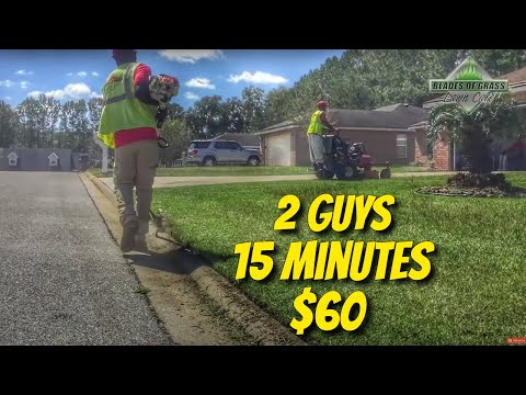 The key to a profitable lawn care 2 man crew