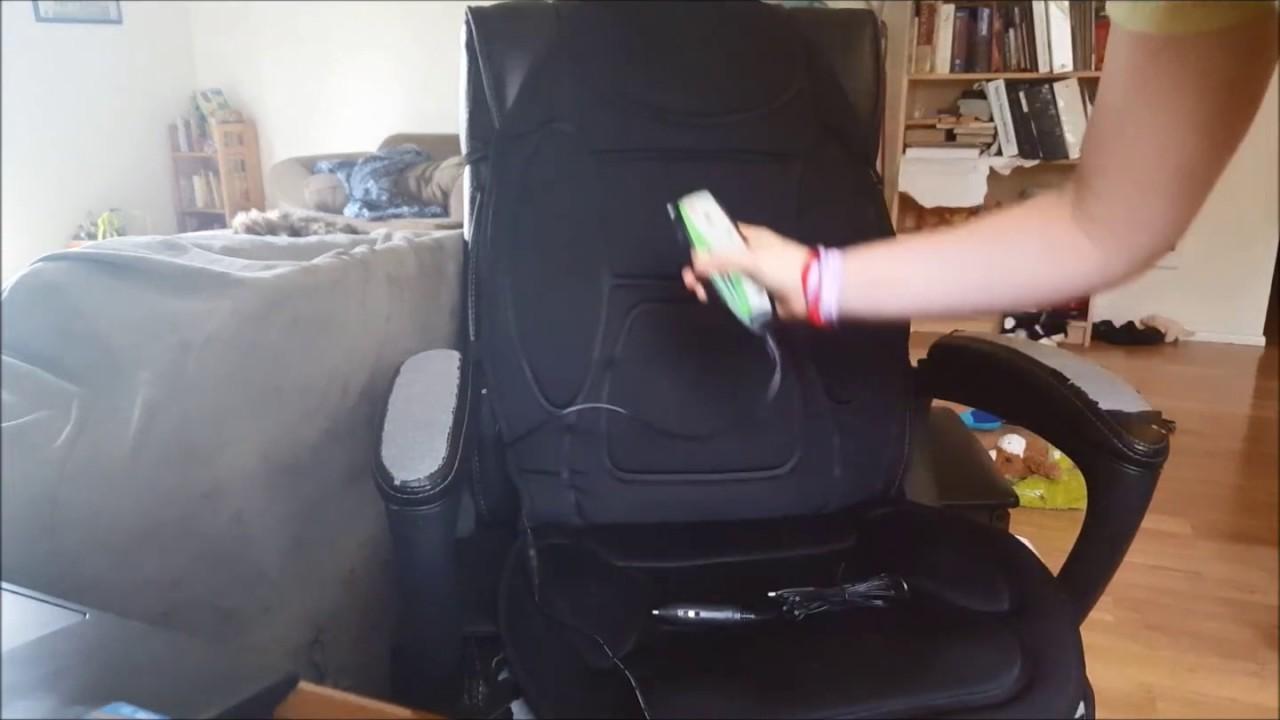 Gideon Seat Cushion Vibrating Massager Reviews