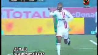هدف الزمالك الثانى شيكابالا فى المصرى تعليق محمود بكر