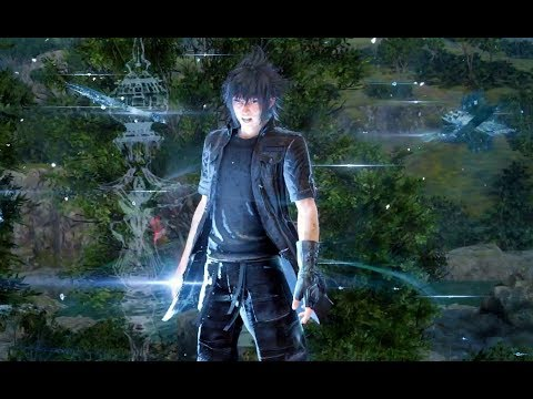 Final Fantasy XV Royal Edition Noctis enters Mastered Ultra Instinct Amiger Unleashed