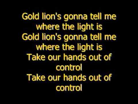Gold lions-yeah yeah yeahs [lyrics]