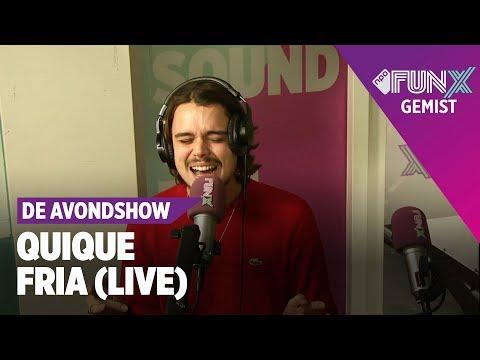 Quique – Fria (Live) | De Avondshow