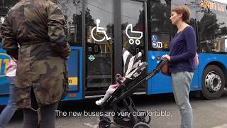 Green buses keep Tbilisi moving