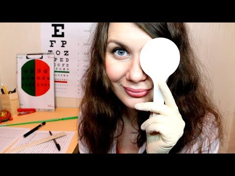 ASMR Doctor Roleplay (I will check your eyes) Medical Exam