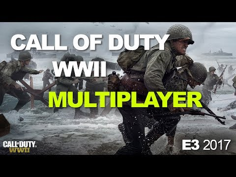 E3 2017: Call of Duty: WII's Multiplayer Divisions, weapons, and War Mode