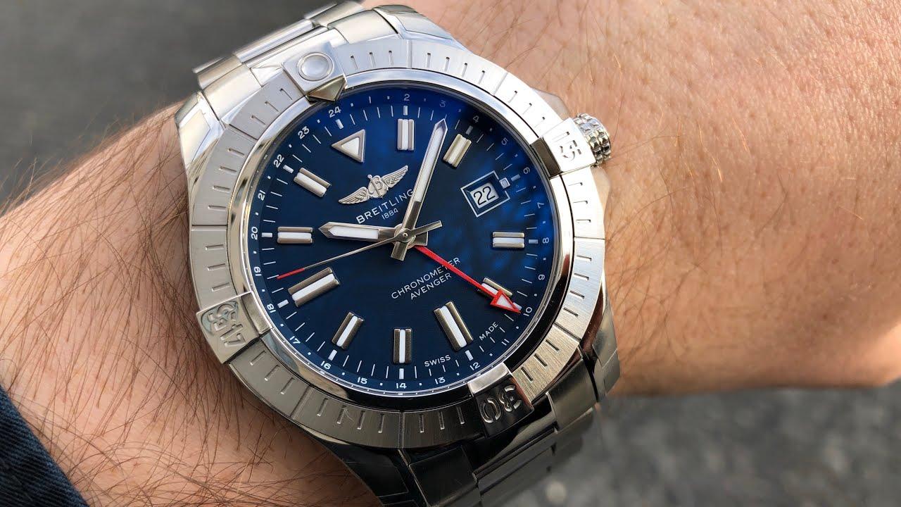 Breitling Avenger Automatic GMT 45 - YouTube