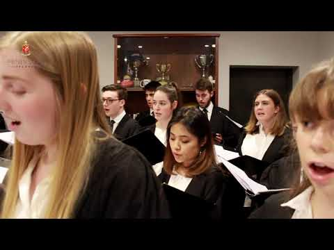 From the Principal's Office Concert Series - Trinity College Choir, University of Melbourne
