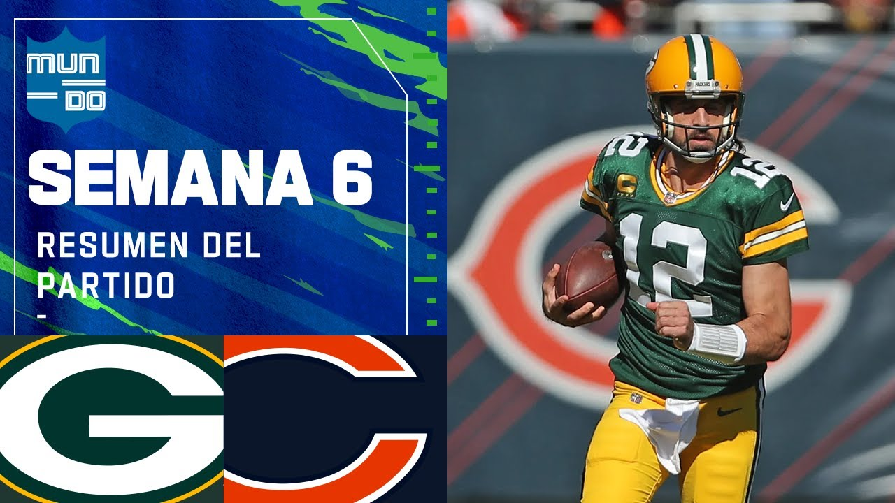 Download Green Bay PACKERS vs Chicago BEARS | Semana 6 2021 NFL Game Highlights