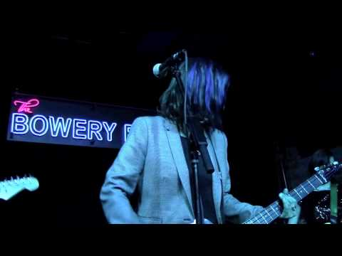 The Bluebonnets Live in New York City The Bowery Electric 4/30/2015